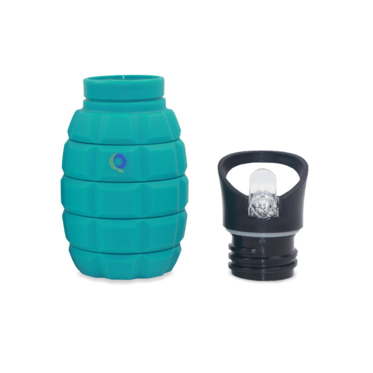Blauwe Drinkfles zonder dop